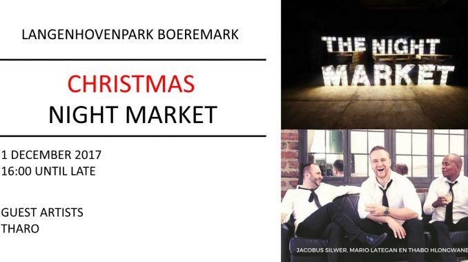 Boeremark Christmas Night Market - Kersaandmark | Bloemfontein Tourism