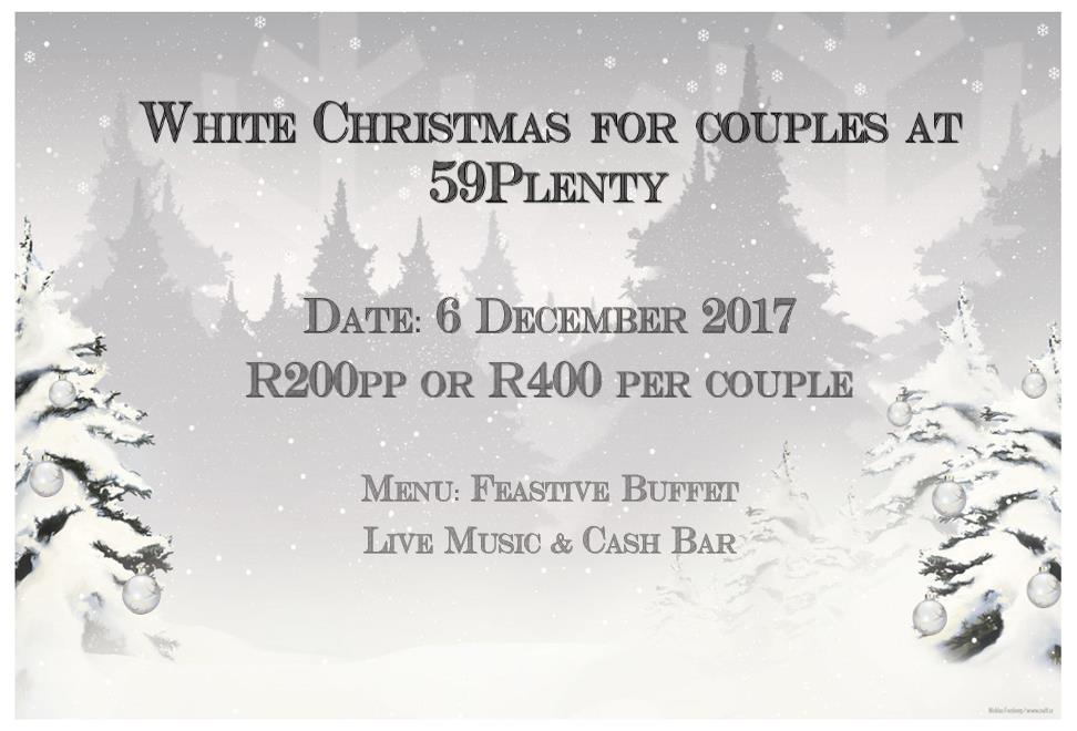 Festive Buffet: White Christmas for Couples
