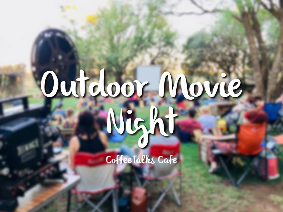 Coffeetalks Cafe: Outdoor Movie Night