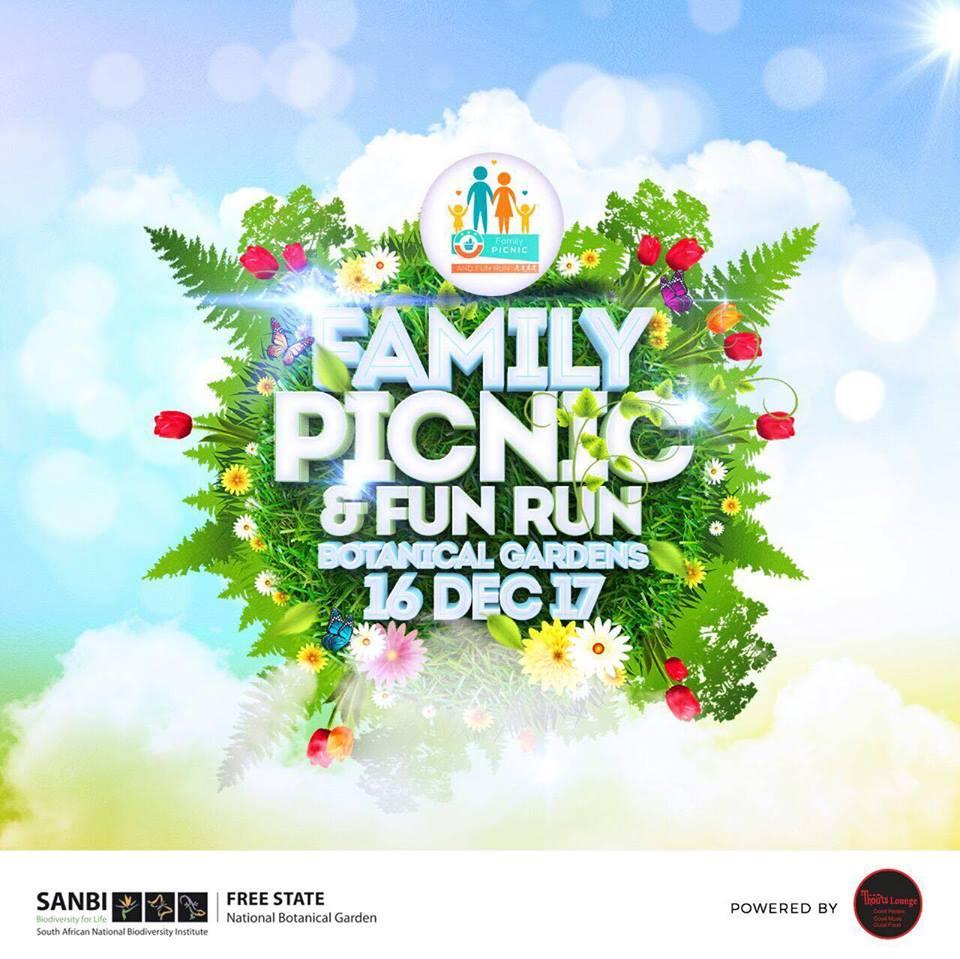 Family Picnic and Fun Run at the Botanical Gardens